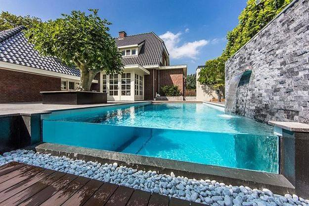 Glass Wall pool builders in Los angeles
